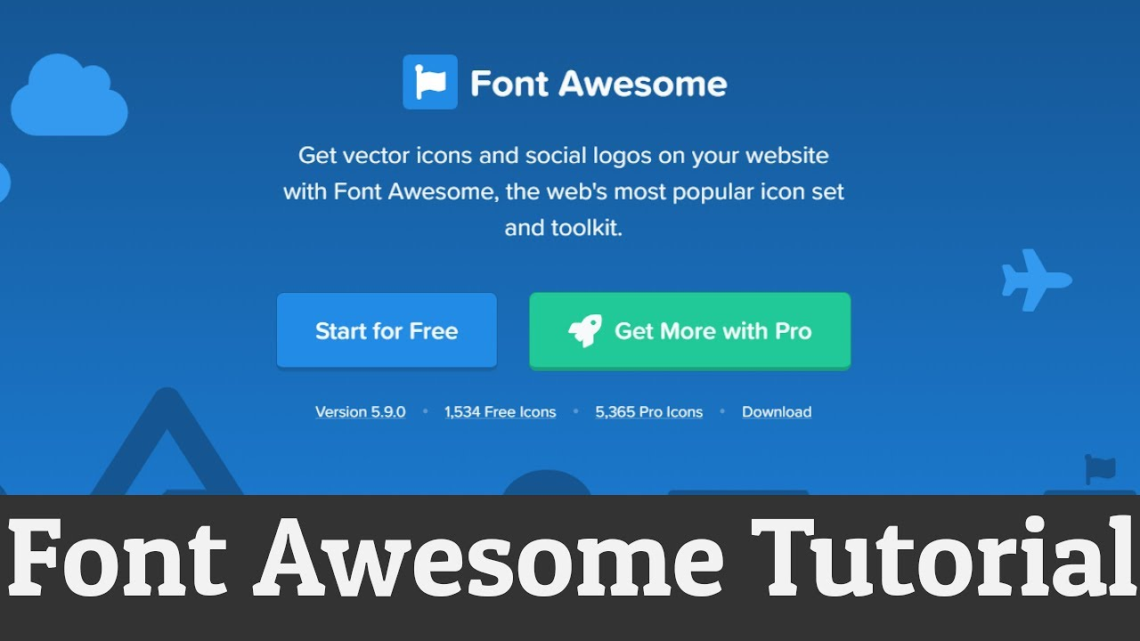 How to Add Font Awesome Icons in HTML