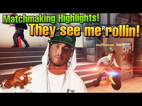 CS:GO Matchmaking Highlights #41 - They see me rollin!