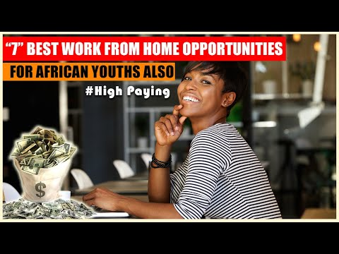 """Top 7 """"High Paying"""" work from home jobs and opportunities that African Youths can also exploit"""