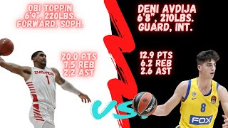 OBI TOPPIN VS DENI AVDIJA! This is the BEST FORWARD Prospect in the 2020 NBA Draft and WHY!!!
