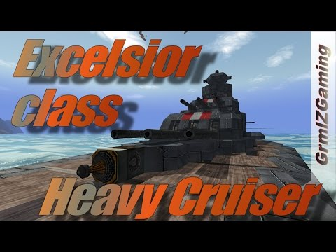 From The Depth - Excelsior Class Heavy Cruiser Sea Trials
