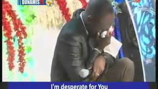 Dr Paul Enenche weeps in Worship