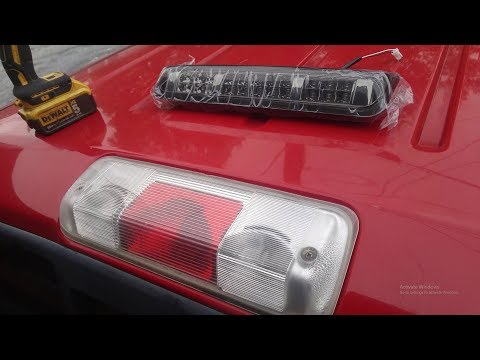 2004-2008 F-150 3rd Brake Light Replacement To LED