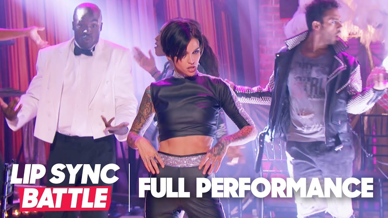 Ruby Rose Performs 'Raise Your Glass'   Lip Sync Battle