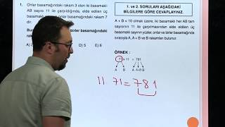 Sayısal Mantık Test 1 Orijin Matematik