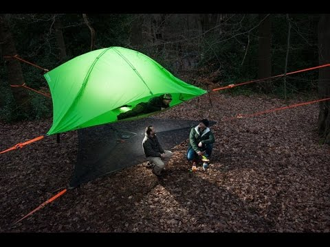 The New Tentsile tree tents collection 2017 ! & The New Tentsile tree tents collection 2017 ! - YouTube