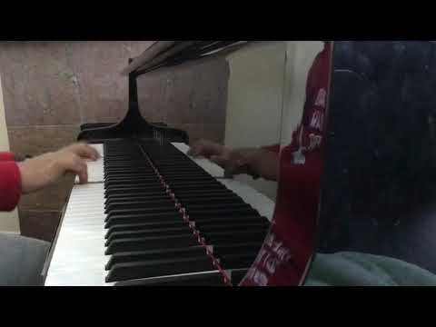me trying to play Rush F by Sheet Music Boss on piano