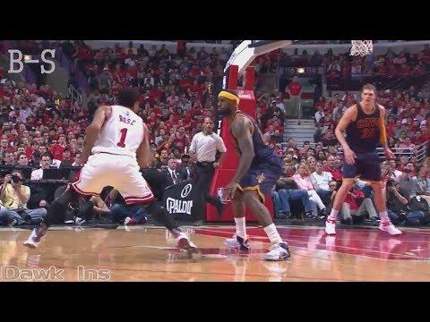 The Game Derrick Rose Turns Into Michael Jordan&Shocks LeBron James!