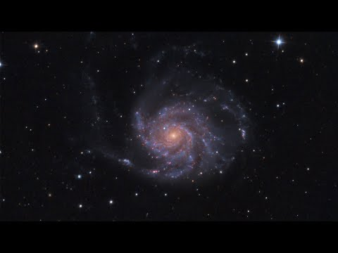 I Photographed The Pinwheel Galaxy With A Ritchey-Chrétien Telescope