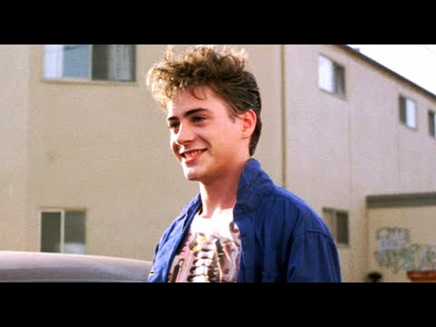 TUFF TURF (1985) Robert Downey Jr. scenes ONLY - YouTube
