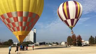 熱気球フライト体験 岡南飛行場祭り 2018.11.18 thumbnail