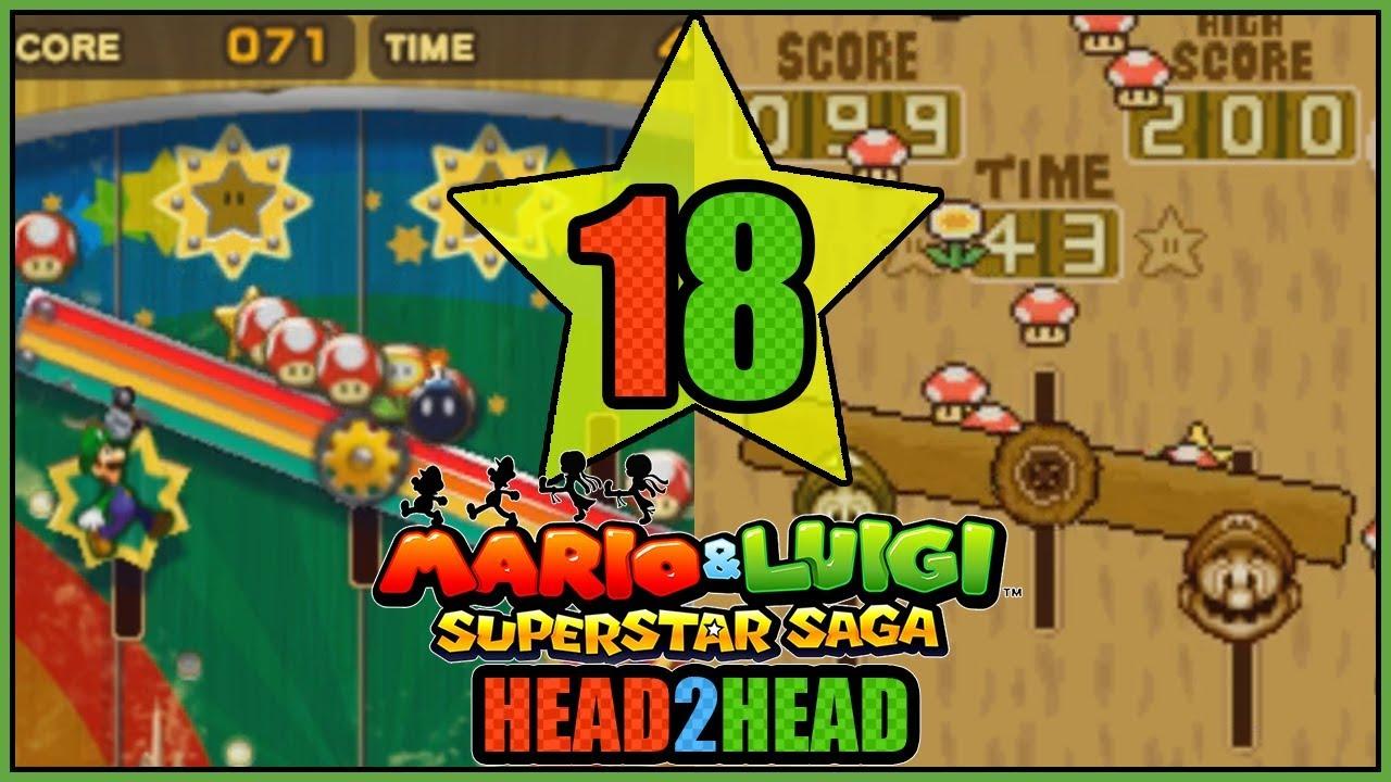 Fungitown Arcade 3ds Vs Gba Mario And Luigi Superstar Saga