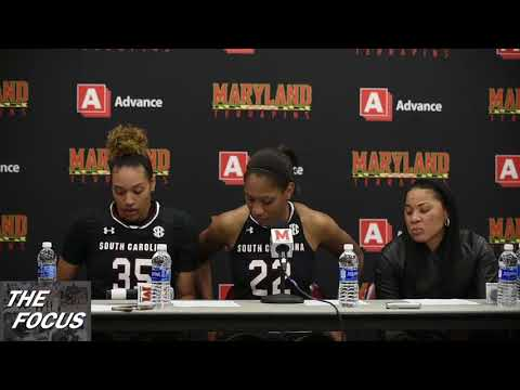 South Carolina Post Game  after win over Maryland