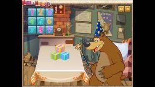 Игра кубики. Обзор игры Маша и медведь. Развивающая игра для детей. Masha and bear.