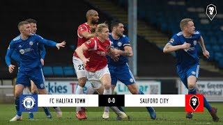 FC Halifax Town 0-0 Salford City   The National League 26/01/19