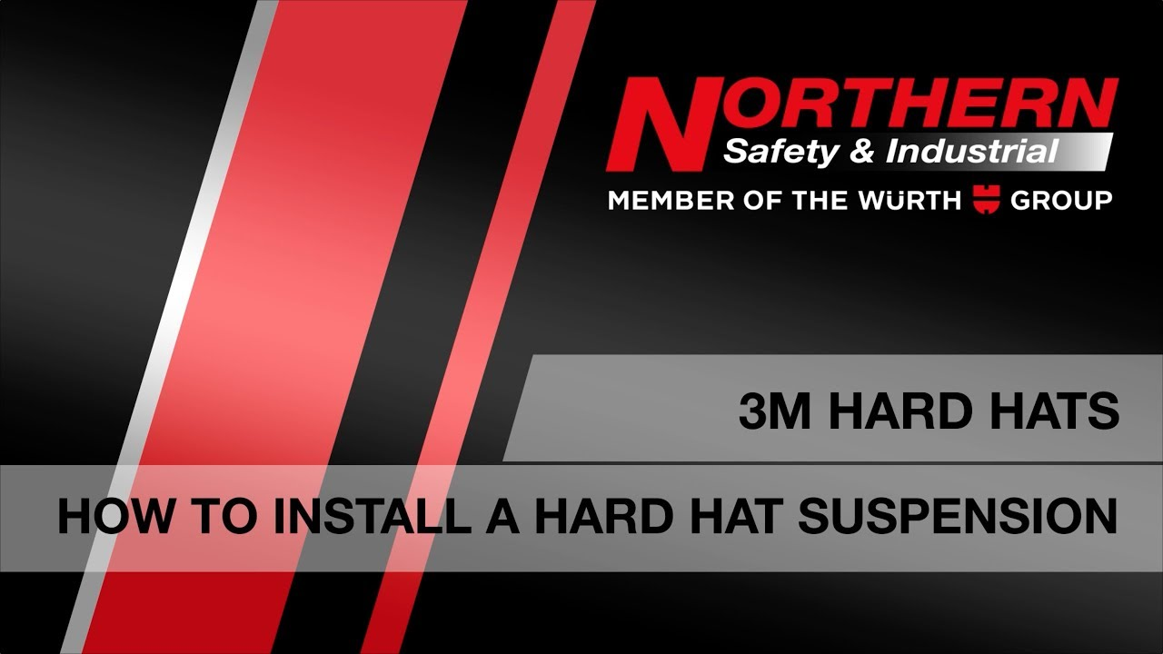 How To Install A 3M Hard Hat Suspension