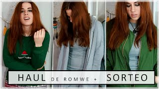 Try On Haul + SORTEO - Romwe (ABIERTO) | Sandra Eme