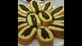 HOW TO MAKE HORSE SHOE CAKE PUTRI STYLE (KEK TAPAK KUDA)