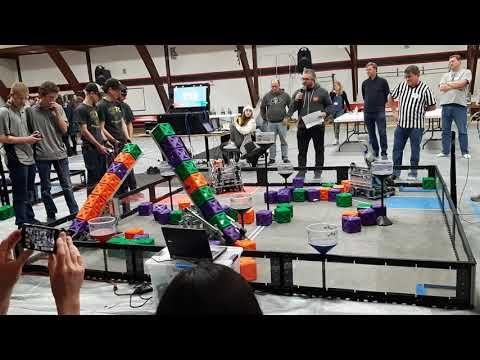 Vex Robotics Colorado: Milliken Middle School Elimination Round 1 (January 25th)