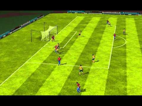 Chile VS Australia (A. Vidal)