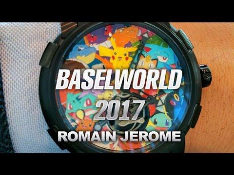 Romain Jerome Watch Collection From Baselworld 2017: Romain Jerome Pokémon