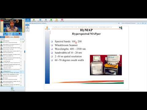 20 Feb 2018 Hyperspectral Remote Sensing Platforms and Sensors By Shri Vinay Kumar