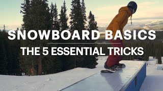 5 Snowboard Tricks for Beginners || REI