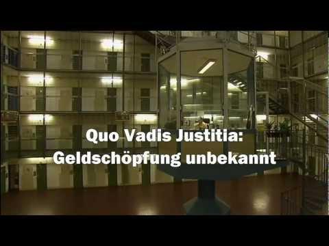 JUSTIZ entlarvt: Giralgeld-Schöpfung unbekannt | GELD | Geldsystem | Geldschöpfung | Strafrecht