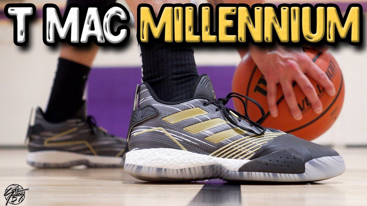 Fortalecer Duplicación Caña  Adidas T-MAC Millennium Performance Review! - YouTube