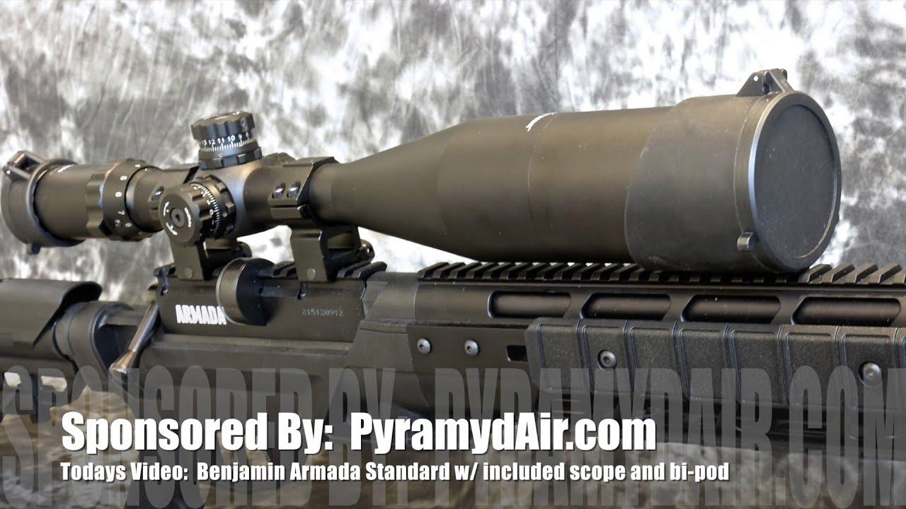 Benjamin Armada Standard - Airgun Review by AirgunWeb / Rick Eutsler
