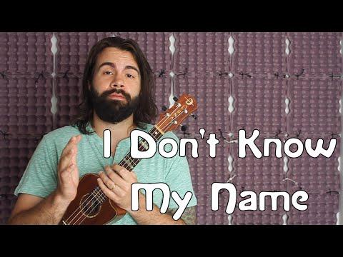 I Don't Know My Name - Grace VanderWaal - America's Got Talent - Easy Beginner Song Ukulele Tutorial