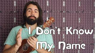 �������� ���� I Don't Know My Name - Grace VanderWaal - America's Got Talent - Easy Beginner Song Ukulele Tutorial ������