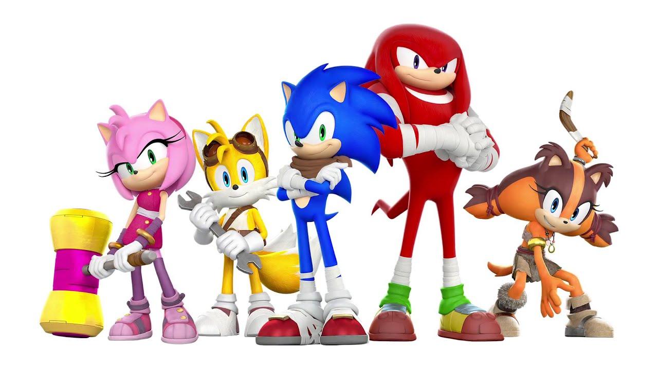 Sonic Boom tv Series Characters Sonic Boom tv Series Dev