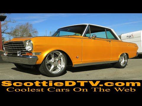 1963 Chevrolet Chevy II Pro Touring Steve Holcomb Pro Auto Custom Interiors