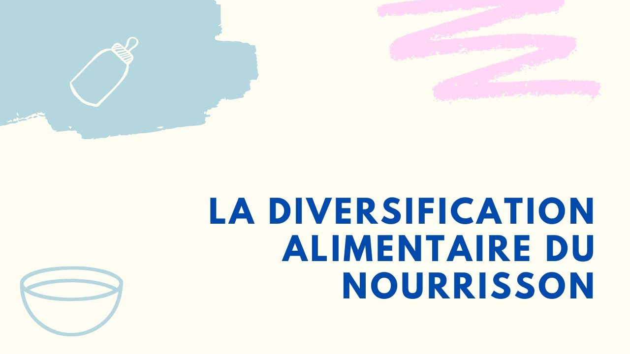 La diversification alimentaire du nourrisson