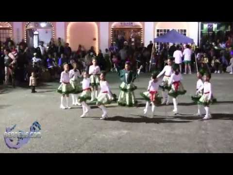 Keya's Fun Approach At St Georges Santa Parade, Dec 8 2012