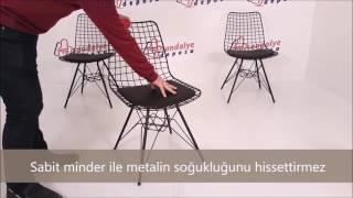 Aymes metal sandalye