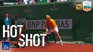 Hot Shot: Nadal Finds The Angle Monte-Carlo 2018