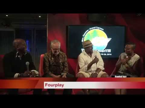Capital Jazz TV interview with Fourplay from The SuperCruise VIII