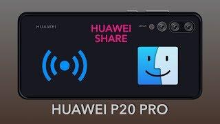 hUAWEI P20 Pro - HUAWEI SHARE Verbindung auf macOS einrichten