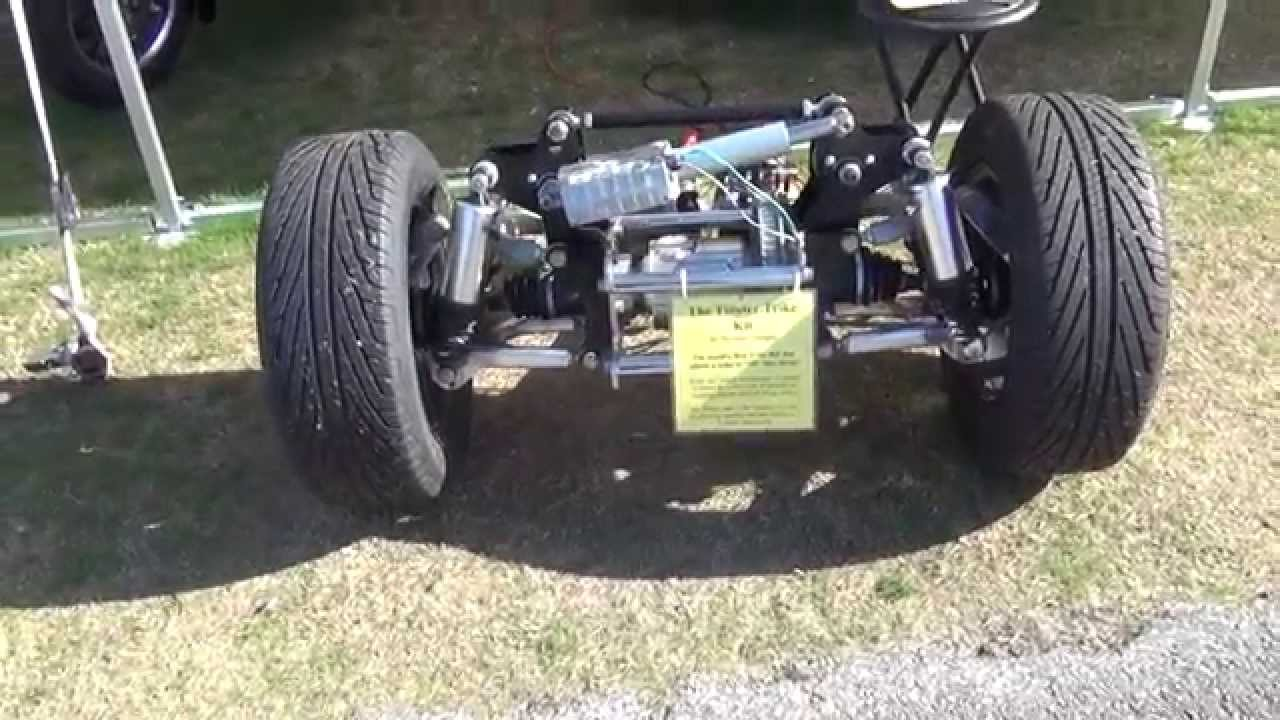 New Designed Trike Axle That Twists When You Turn