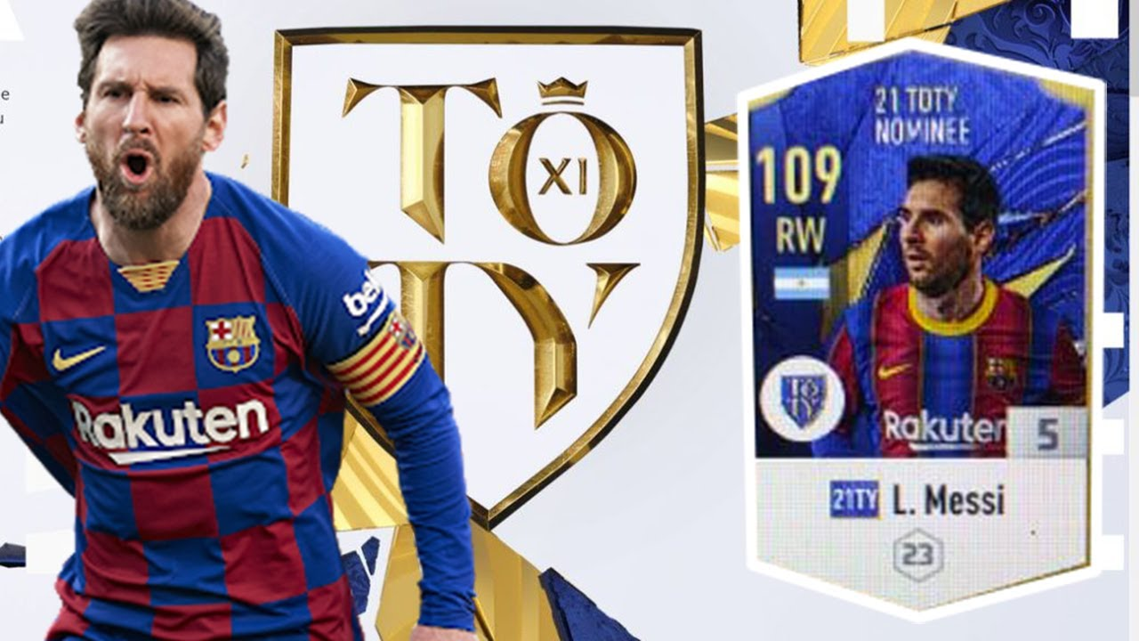 [FO4] REVIEW MESSI TOTY 21 NOMINEE +5_BEST ZD CỦA GAME