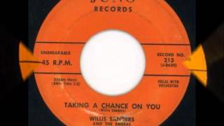 WILLIS SANDERS AND THE EMBERS - YOUR SOUVINERS - JVPITER 213 / JUNO 213 - 1957