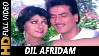 Dil Afridam | Kishore Kumar, Asha Bhosle | Sone Pe Suhaaga 1988 Songs | Jeetendra, Sridevi
