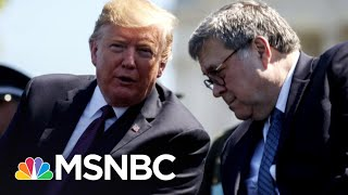 Halpern Leaves Justice Dept. Over Barr's 'Slavish Obedience' To Trump | The Last Word | MSNBC