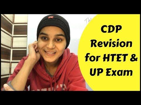 CDP Final Revision for HTET & Super-TET 2019