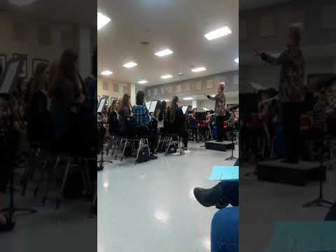 Cabot Junior High South Concert- Tanoan Echoes- 2/10/2020