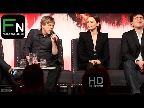 Star Wars: The Last Jedi I Press Conference I Film-News.co.uk