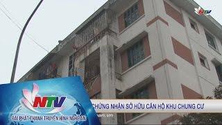 13 năm đòi giấy chứng nhận sở hữu căn hộ khu chung cư