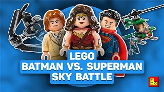 ◉ Обзор LEGO BATMAN V SUPERMAN - Sky High Battle review┃ЛЕГО Бэтмен против Супермэна 76046